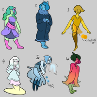 Closed Topaz Adopts (0/6) by catastrophe-witch