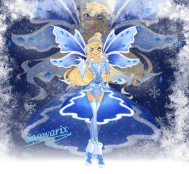 Snowarix: The iceprincess is coming ! by xXDiamondStarXx