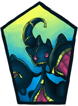 Pokemon Icon Commission #4: Mega Bannete by toshema