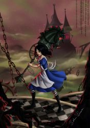 Alice Madness returns by Surkuhupainen