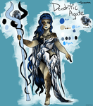 Gemsona - Dendritic Agate by Lolalilacs