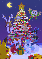 ~Merry Pokemas~ by Versiris