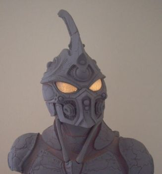 Guyver Bust Resin Kit by Mutronics
