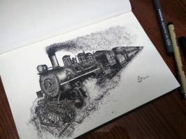 Locomotive by StephanoAnt