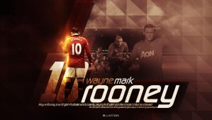 Wayne Rooney (Manchester United) by AlbertGFX