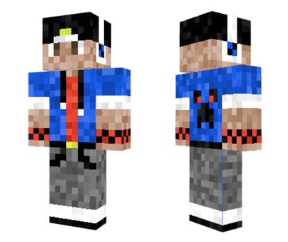 New Minecraft Skin by LyricArchive