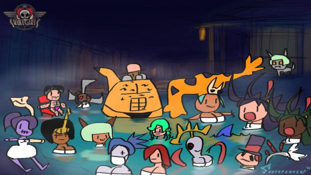 Ultra Skullgirls Hotsprings Deluxe Edition by southpawper