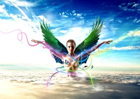 Angel of colors by MP-Design