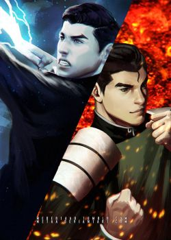 Mako and Bolin - The Legend Of Korra: Balance by MeTaa