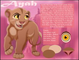 Ayah Character Reference by LanieJ