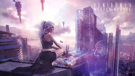 The City of Amethyst by Auralorina