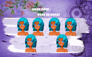 Amor doce---Pack Bocas by Helyra