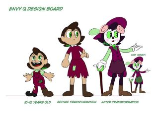 Cuphead - Envy Official Design Sheet by EnvyQ00