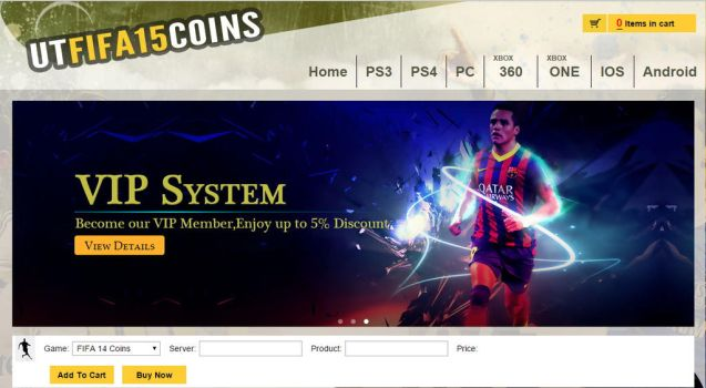 UTfifa15coins.com VIP System by UTfifa15coins