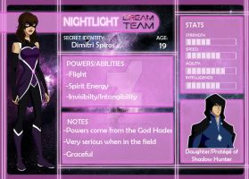 Dream Team App: Nightlight by xDarkHikarix