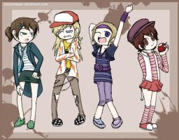 BFFL - outfits n poses by Chocoreaper