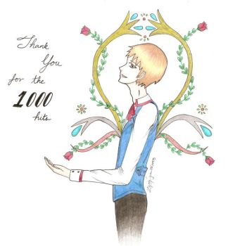 Thank You -1000 hits by thefalleninfant