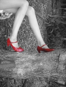 Red shoes by PeRcUsSiOn