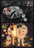 Auction: Spider Mystery and Pumpkin King [Closed] by Luscielle