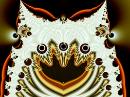 The Fractal Owl That Sees All by BGai