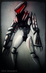 Android Enforcer by ItalianRecluse