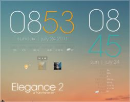 Rainmeter - Elegance 2 by lilshizzy