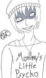 Mommy's Little Psycho - Outline by Demonflames