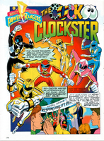 MMPR - The Cuckoo Clockster by ryanthescooterguy