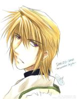 Watercolor Sanzo by Zue