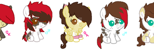 babies for frankinpoodle ~closed~ by Goldenecho