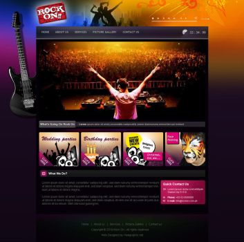 Rock On by viewgraphic