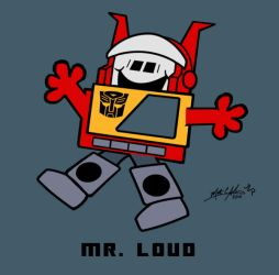 10. Mr. Loud by hiredhand