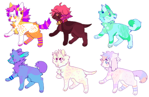 Eyesore Adopts(two left)(STILL OPEN) by cryptidroad