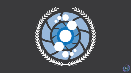 Outer Worlds Defensive Initiative - Emblem by Nyctaeus