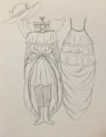 Season Evergreen Cosplay Sketch by Season-the-Wiccan