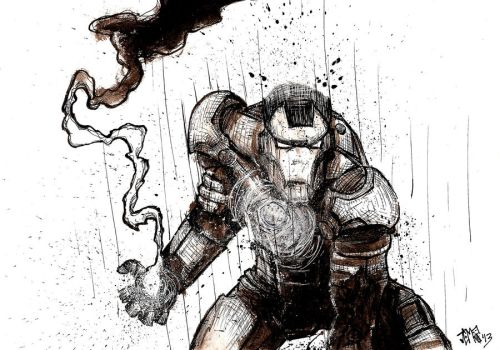 Iron Man by JC-MCNAMEE