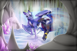 Crystal cave by Nordeva