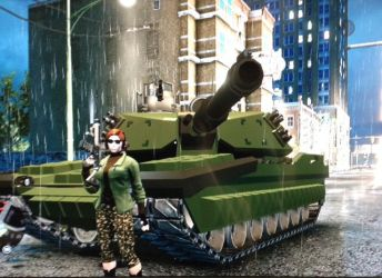 Saints Row The Third - Challenger Tank by Super6-4