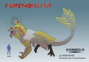 Pokemonster - Kommo-o by MissMagnificent