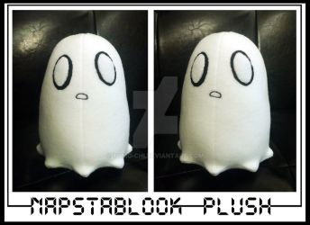 Undertale: Napstablook Plush by Tomo-Chi