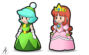 Request - Paper Dresses by Eniotna
