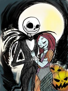 We Can Be Like Jack And Sally... by DAGoblindraws