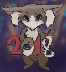 Fursy - Happy New YEAR by Earnster