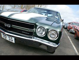 Chevrolet Chevelle by astrographicnz