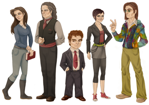 Relativity Character Set 2 by Astral-Dragon