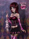 Rock Chick Draculaura by kharis-art