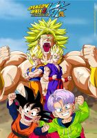 DBZ Kai Movie 10 by kingvegito