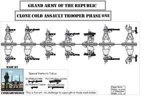 Republic Clone Cold Assault Troopers Phase 1 by Comradesoldat