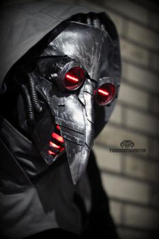 Incurable - cyber plague doctor mask by TwoHornsUnited