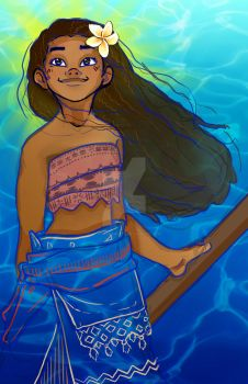 Moana by ArtofSarahBeth